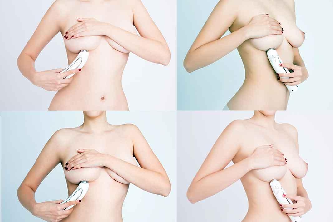 Esta es la forma como puedes colocar el Pink Luminouse Breast.