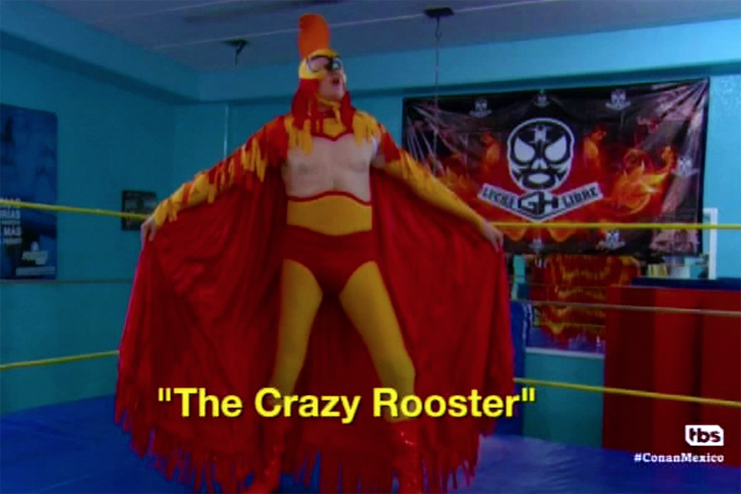 conan obrien the crazy rooster