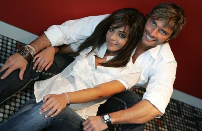 Julián Gil y Ana Lorena Sanchez Foto: Instagram