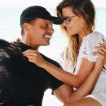 Luis Miguel y su hija Michelle Salas