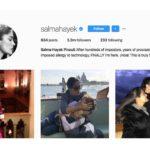 El Instagram de Salma Hayek