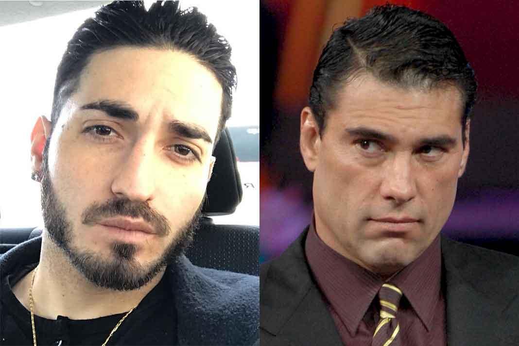 Padre e hijo no se hablan, ya que Eduardo Yáñez Jr. acusa al actor de abusador de mujeres y drogadicto