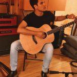 Luis Alberto en su primer día de grabación