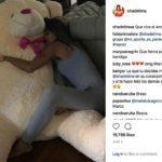 Shannon recibió este enorme oso de peluche