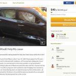 Eduardo Yáñez Jr. pide ayuda en esta página de GoFundMe.com