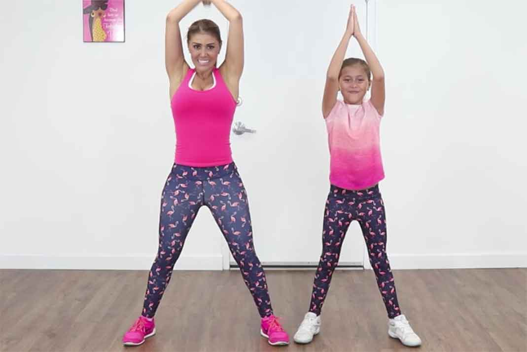 Ingrid Macher y su hija
