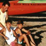 Julio con sus hijos Julio Iglesias Jr. y Enrique Iglesias