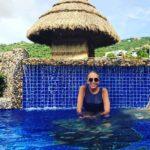 """""""Nada como Acapulco"""", escribió la presentadora en su Instagram junto a esta foto"""