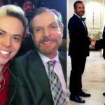 Llevan más de 20 años como pareja y se casaron por segunda vez en Las Vegas en abril