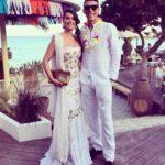 Héctor Moreno y su mujer, muy guapos