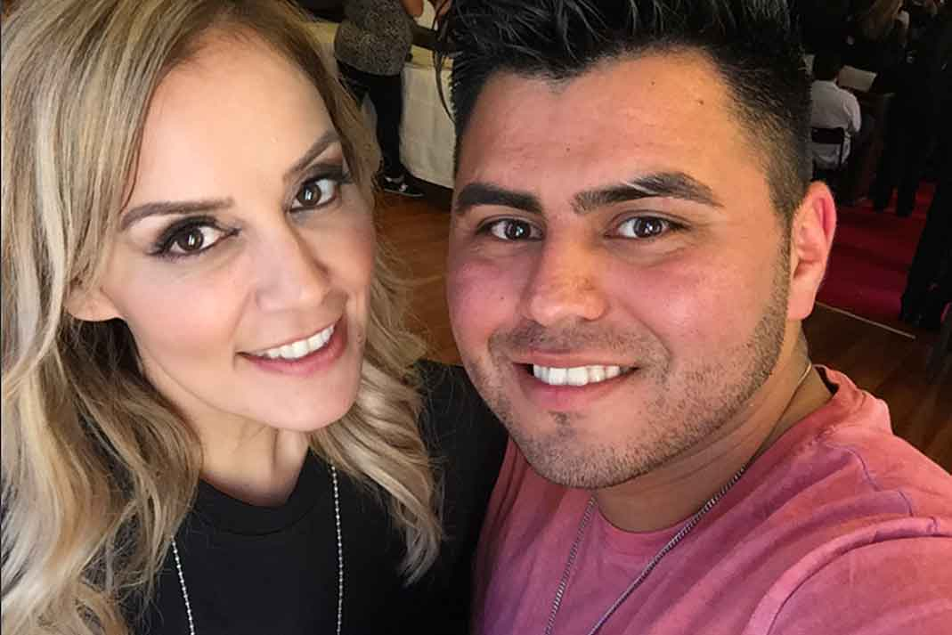 Rosie Rivera and Abel Flores