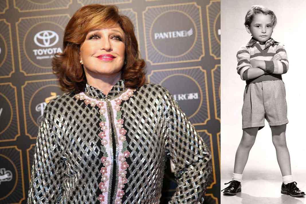 Angélica María comenzó desde niña en la actuación, en la cinta