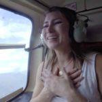 Natasha se emocionó hasta las lágrimas y dijo que sí a la petición de matrimonio