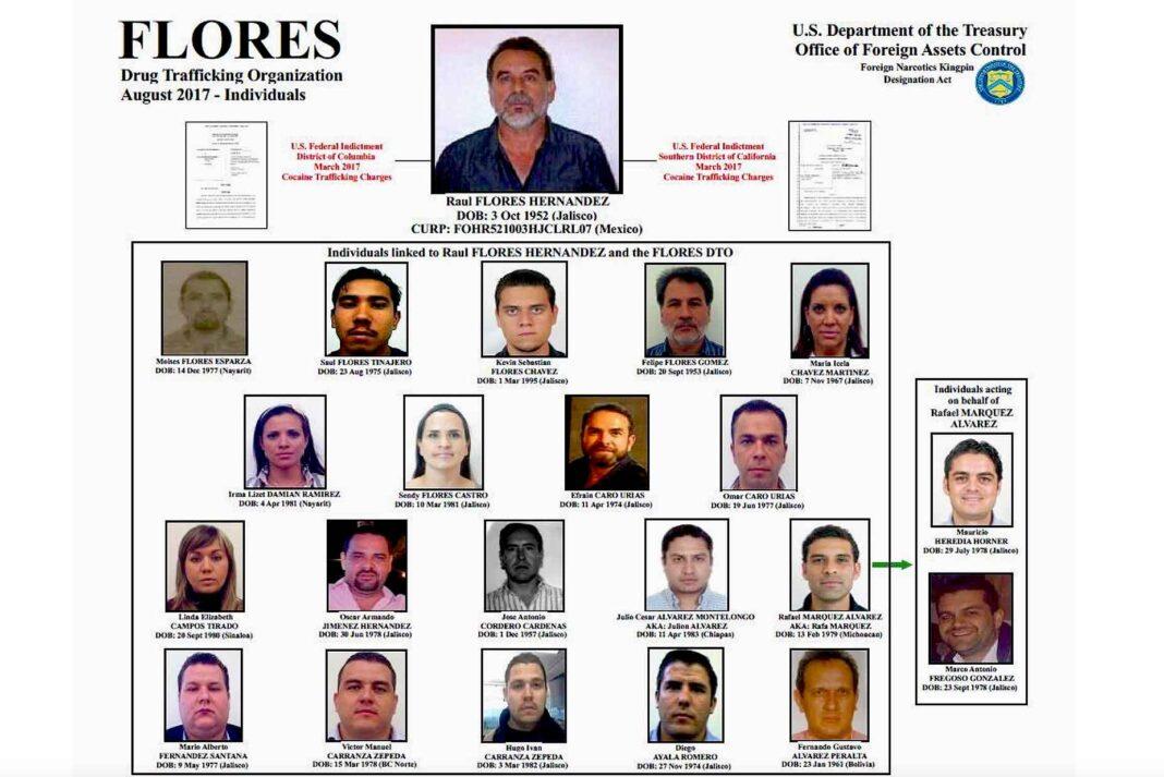 En la lista del Departamento del Tesoro se encuentran las fotos de Julión y Rafa
