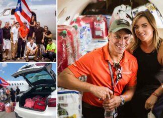 Adamari tuvo la iniciativa junto con varios conocidos de enviar ayuda a su bello Puerto Rico
