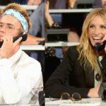 Justin Bieber estuvo charlando con la gente que donaba, al igual que Julia Roberts