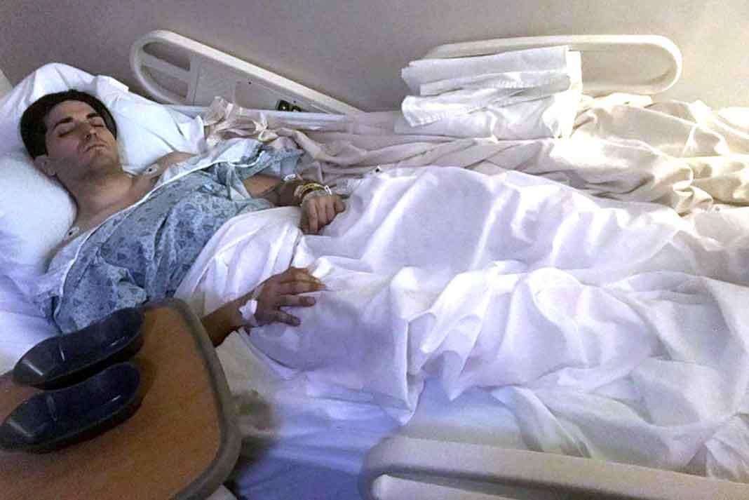 Eduardo Yáñez García fue intervenido en un hospital de Los Angeles