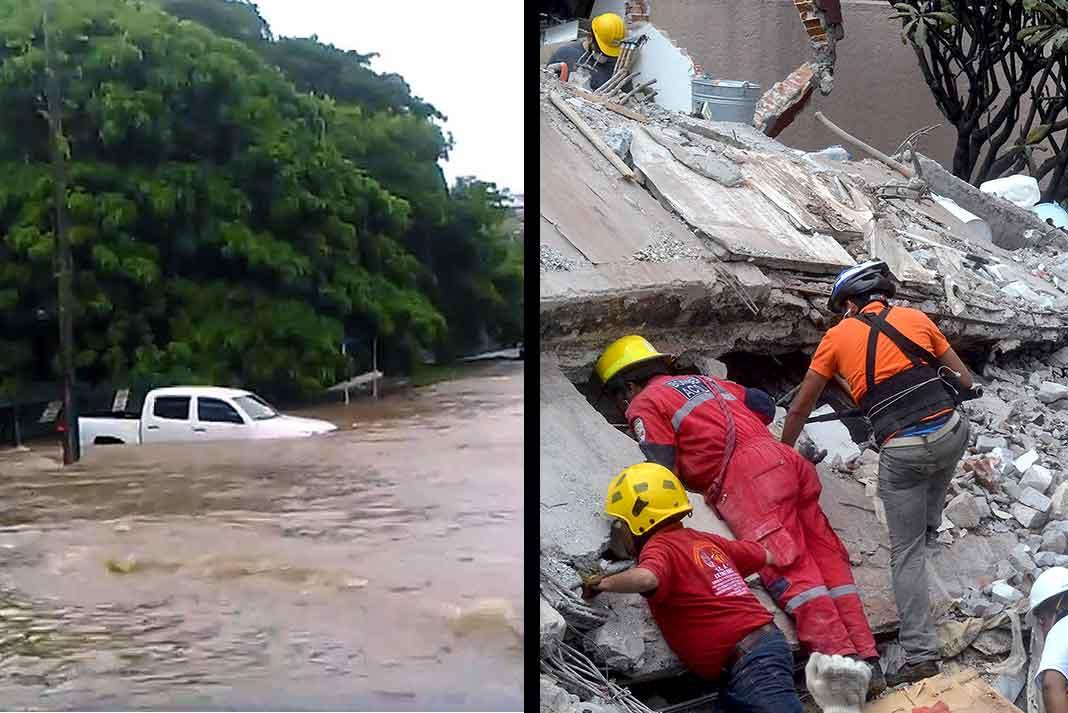 El huracán María en Puerto Rico y el Caribe y el terremoto en México han movido corazones