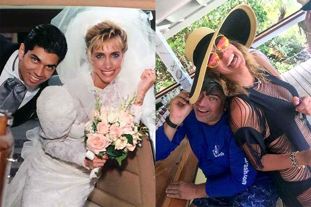 Lili y Lorenzo se conocieron hace 28 años y hace 3 semanas acababan de celebrar sus 25 años de matrimonio