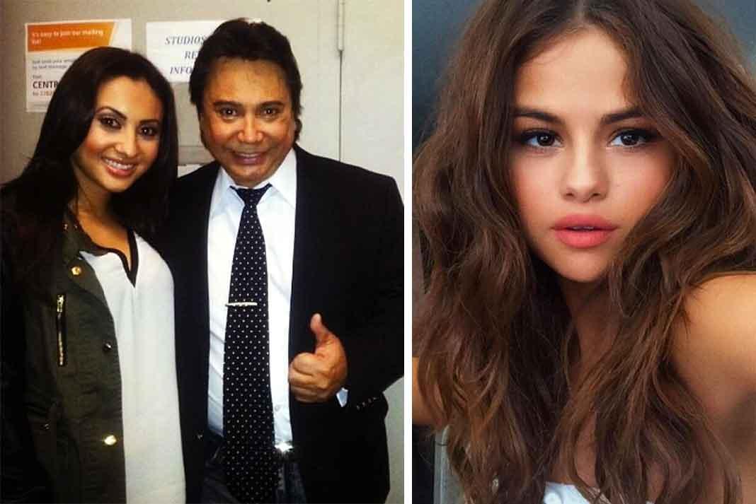 El famoso locutor no sabía que su hija Francia le donó un riñón a Selena