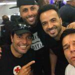 El súper escuadrón boricua conformado por Nicky Jam, Luis Fonsi, Chayanne y Ricky Martin