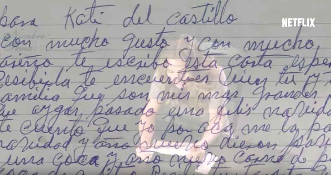 Kate mostrará y letra el contenido de una carta que El Chapo le envió
