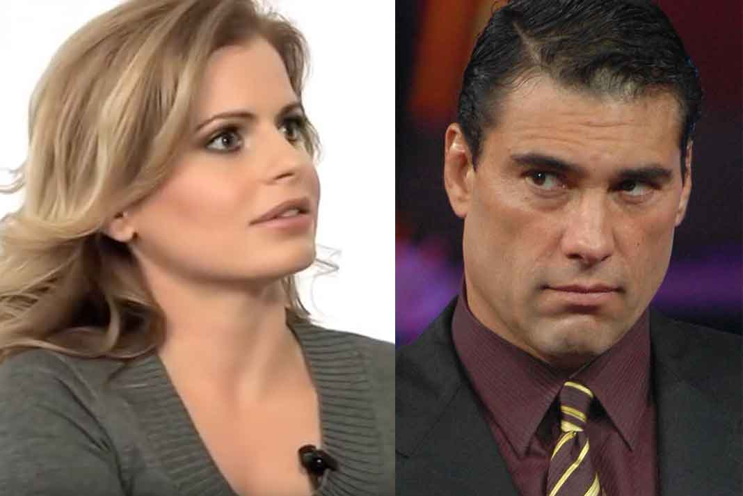 Francesca Cruz duró casada con Eduardo Yáñez siete años