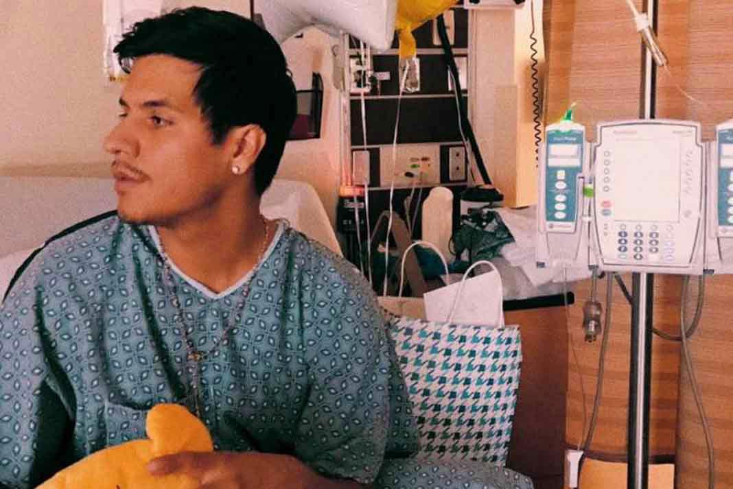 Luis Alberto Aguilera fue hospitalizado por estrés y exceso de trabajo