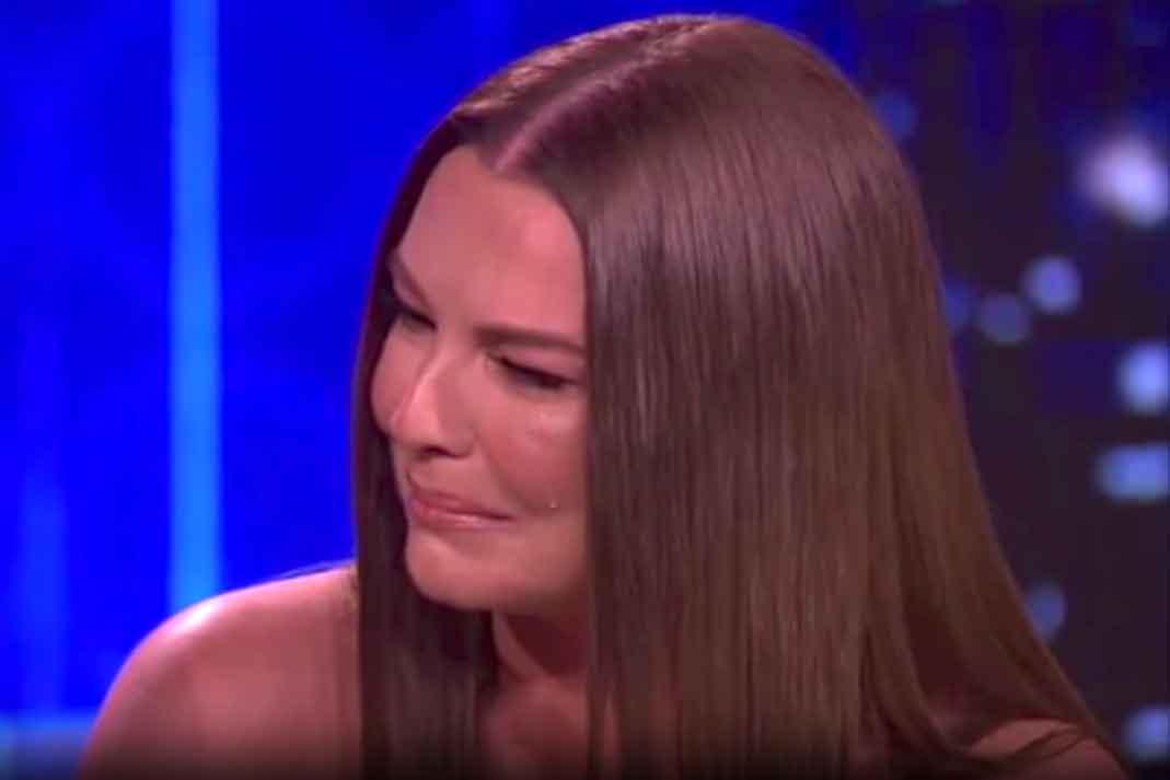 Marjorie de Sousa no pudo contener las lágrimas en