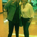 Y también me encontré a Fedro, que andaba de cumpleaños, y que por cierto se presentara en concierto en Miami en un par de semanas.