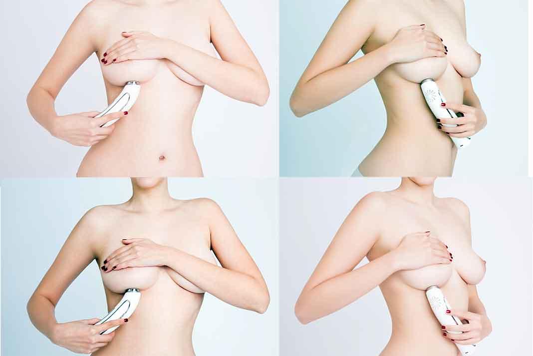 El Pink Luminous Breast permite ver a contra luz la parte interior de tus senos.