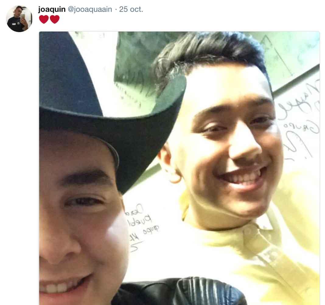 Johnny y Joaquín han publicado inocentes fotos como ésta