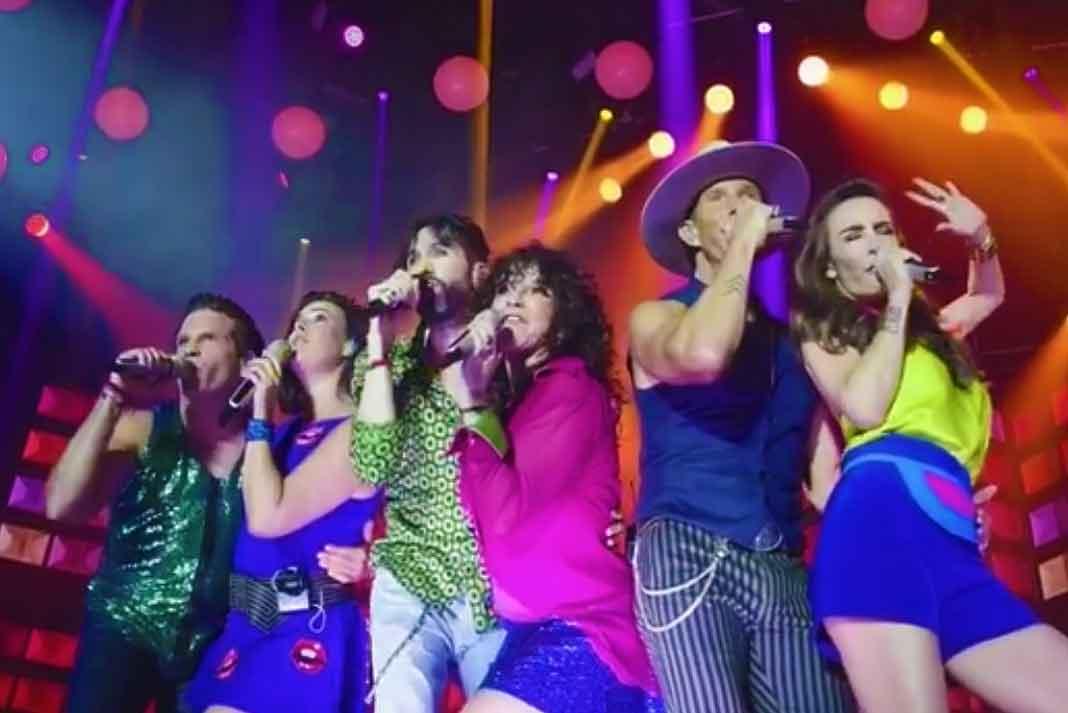 Timbiriche se presentó con gran éxito en el Zócalo de la Ciudad de México