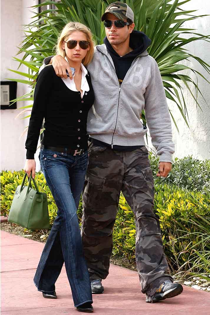 Anna Kournikova y Enrique Iglesias