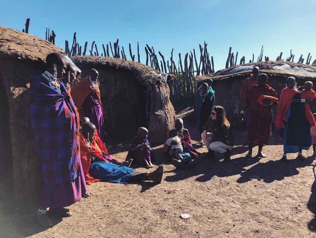 """""""Dicen que uno no es el mismo después de un viaje, aún más si se trata de África"""", escribió"""