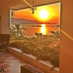 Gabriel Soto compartió esta imagen del atardecer desde su residencia.