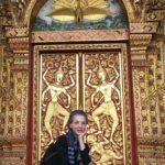Conoció los bellos y milenarios palacios con adornos de oro