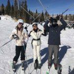 Con sus hijos pasando su primeras vacaciones en familia tras su separación
