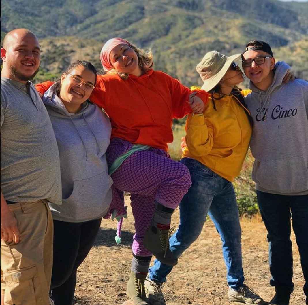 Michael, Jenicka, Chiquis, Jacquie y Johnny, los hijos de Jenni, tienen problemas de sobrepeso