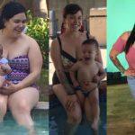 En noviembre de 2016 Jacquie pesaba 235 libras, pero ha bajado 55