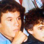Juan Gabriel adoptó a Alberto cuando éste tenía como 14 años de edad