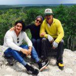 Adria es muy unida a su hermano Ricardo Jr. y a su padre Ricardo Arjona