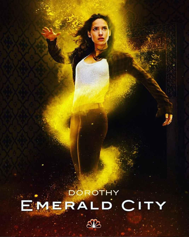 """Adria es """"Dorothy"""", la protagonista de la nueva versión de """"El Mago de Oz' del canal NBC"""