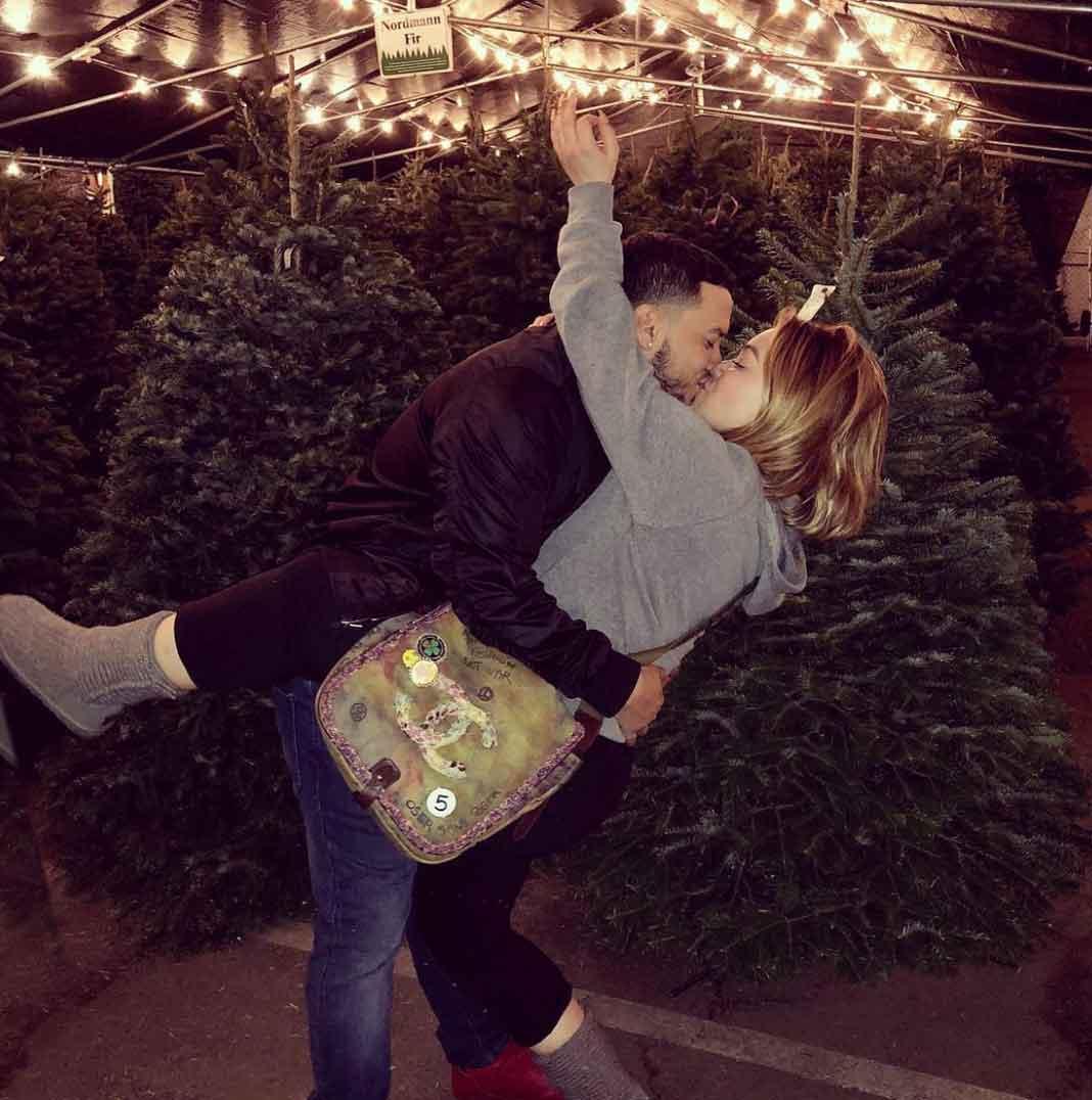 En diciembre todo era felicidad entre ellos; incluso en San Valentín
