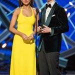 """Eiza González presentó dos premios con el actor Ansel Elgort, su compañero en la cinta """"Baby Driver"""""""