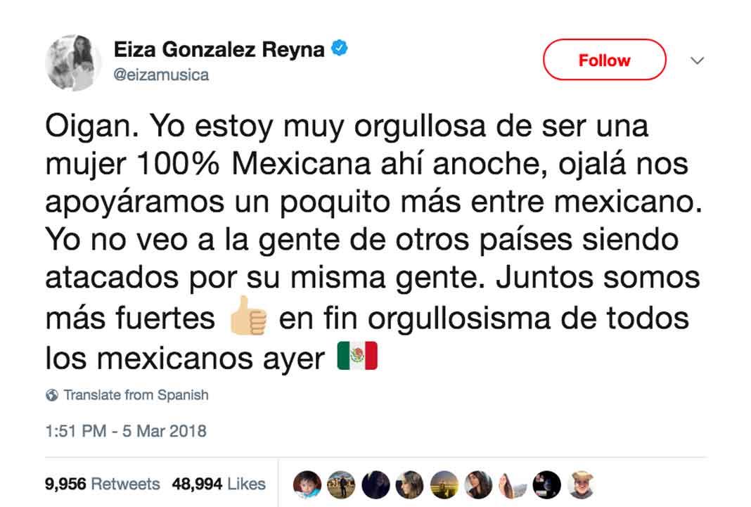 La mexicana nunca imaginó que sería recordada así en los Oscar