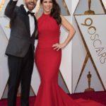 Eugenio Derbez llegó del brazo de su bella esposa Alessandra Rosaldo