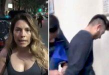 Fernanda denunció su agresión y captura del sujeto a través de sus redes sociales
