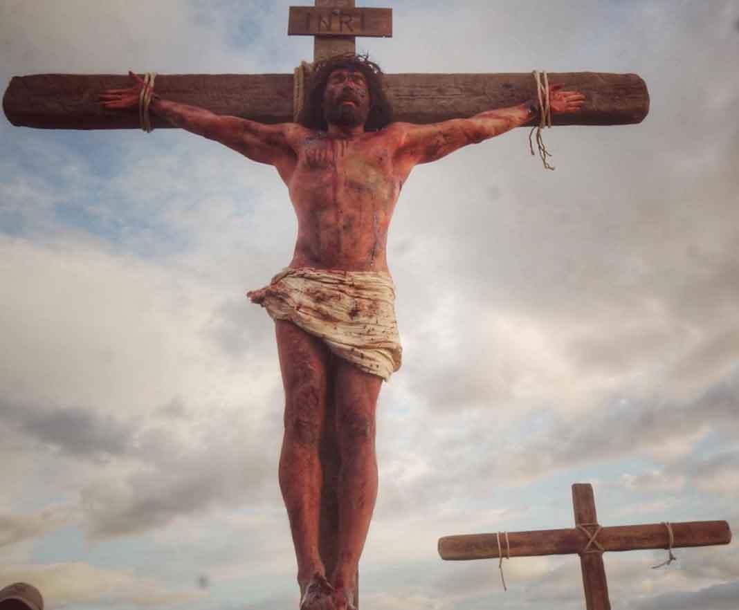 Tuvo que bajar 22 kilos para interpretar a Cristo