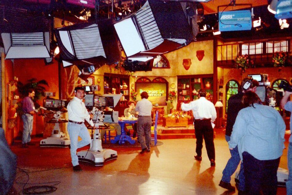 Un día normal de programa en la casita original.